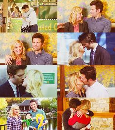 Parks and Recreation. Leslie and Ben Best Tv Shows, Best Shows Ever, Movies Showing, Movies And Tv Shows, Leslie And Ben, Parks And Recs, Parks Department, Leslie Knope, Tv Couples