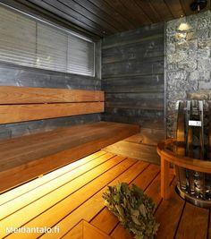 Sauna Design, Finnish Sauna, Spa Rooms, Saunas, Home And Living, Sweet Home, Interior, Dreams, Bathroom