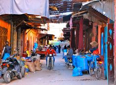 Marrakech, souq delle spezie