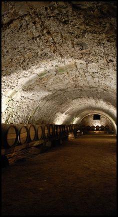 A cave in Vaux le Vicomte Castle, Maincy, France