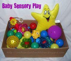 Baby sensory play