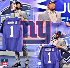 Odell Beckham Jr... I'm thankful to have a guy like this on my team