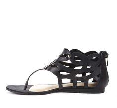 so cute for summer // cutout sandals