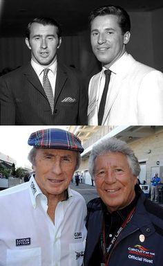With Jackie Stewart