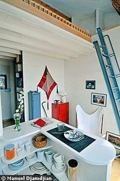 19 m2 mon petit duplex bourr d 39 astuces mezzanine and for Abaisser plafond