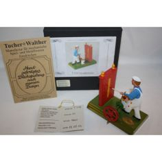 TUCHER WALTHER METAL-TIN GERMAN INTERIOR PAINTER IN BOX LIMITED EDITION VERY RARE 1000