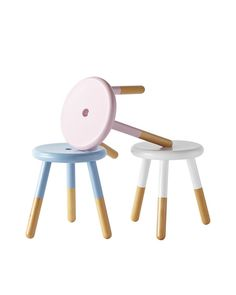 Riley Play Stool - Stools | Serena and Lily