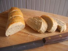 Easy Homemade French Bread. This is my go-to homemade french bread recipe. Super easy, and they turn out perfect and delicious every time. *They are a little bit on the small side, so if you are used to bigger loaves, I would make one loaf  per batch instead of splitting the dough to make two.
