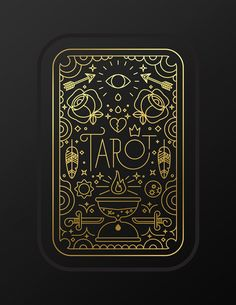 Tarot. by Enrique Larios, via Behance