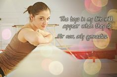 The boys in my life will appear when they do. For now, only gymnastics. -Aliya Mustafina :( Its true