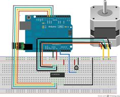 Speed and direction control of a dc motor all about for Step motors and control systems