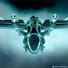 If you watched the movie, you have seen Daniel Simon's amazing work for Tron… Concept Ships, Concept Cars, Tron Art, Tron Uprising, Light Cycle, Tron Legacy, Sci Fi Ships, Retro, Techno