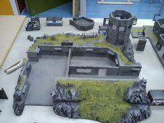 Warhammer Terrain, 40k Terrain, Wargaming Terrain, Sci Fi Miniatures, Modeling Techniques, Tabletop, Warhammer 40000, Small World, Decoration
