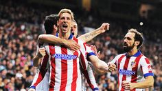 Jan. 14th. 2015: in the Copa del Rey, a Fernando Torres double sends Atletico through after an aggregate win over Real Madrid