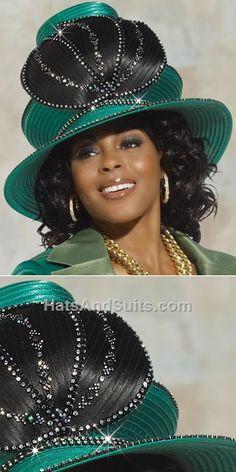 DonnaVinci Couture HATS H2122 Church Hat Fall 2013