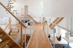 LT Josai is a share house in Japan designed by Japanese firm Naruse Inokuma Architects.