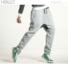 mens harem sweatpants I don't care if they are for guys, I want a pair so bad!