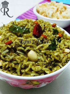 Rani's Treat: Gongura Rice | Gongura Pulihora | Red Sorrel Leaves Rice | Pulicha Keerai Sadam