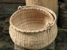White oak basket -