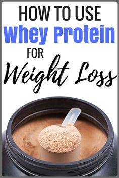 Is whey protein a regular staple in your weight loss plan? If not, it should be. It's a great low calorie and low carb snack that will keep you full and help you lose weight! http://avocadu.com/use-whey-protein-weight-loss/