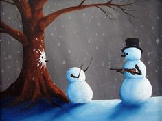 Until We Meet Again: Dreamy And Surreal Paintings Of Robert Dowling Jr Surrealism Painting, Jolly Holiday, We Meet Again, Source Of Inspiration, Tis The Season, Snowman, Whimsical, Disney Characters, Fictional Characters
