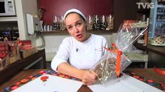 Como fazer embalagem para ovo de Páscoa de colher