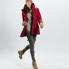 Lolë Women's Outerwear. Winter Gear, Its Cold Outside, Online Shopping Clothes, Stay Warm, Winter Outfits, Leather Jacket, Coat, My Style, Glow