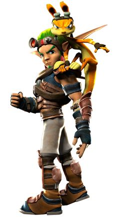 PlayStation All-Stars: BR- Jak and Daxter by acdramon.deviantart.com