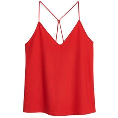 Buy Mango Spaghetti Strap Top, Orange from our Women's Shirts & Tops range at John Lewis & Partners. Orange Tank Top, Red Tank Tops, Orange Shirt, Red Shirt, Cami Tops, Mango Tops, Spaghetti Strap Top, Girly Outfits, Texture