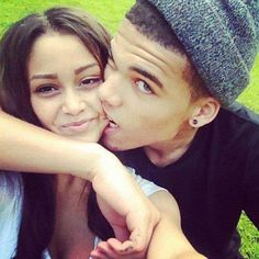 ATHLETIC COUPLES Tho Cutest Thing Ever!  Hey Baby  ❤ Shut up , I'm still Talking To You .  I been Waiting All Day ! ShutUpWilliams