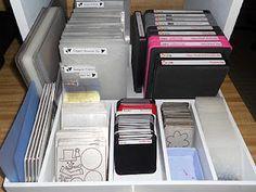 Die Cut storage