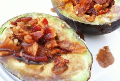 Fast Paleo » Bacon Avocado Cups With Balsamic Glaze - Paleo Recipe Sharing Site