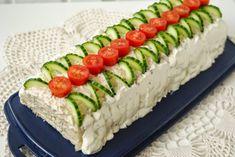 Fish Breading, Sandwich Cake, Bread Cake, High Tea, Tuna, Finger Foods, Tea Party, Sushi, Appetizers
