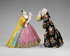 Meissen Manufactory (German, 1710–present). The Thrown Kiss, ca. 1736 - The Metropolitan Museum of Art, New York