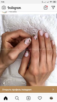 маникюр короткие ногти весенний розовый тюльпаны Shellac Nails, Nail Manicure, Diy Nails, Cute Nails, Pretty Nails, Acrylic Nails, Nail Polish, Minimalist Nails, Stylish Nails