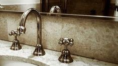 Gandeste-te la ce va fi folosita bateria de chiuveta si daca vrei una monocomanda sau cu dublacomanda. De exemplu daca o folosesti ca sa te speli pe maini, o baterie mica este suficienta. Dar ca sa umpli o cada de baie, sunt mai mute variante din care poti sa alegi. Sink, Home Decor, Sink Tops, Vessel Sink, Decoration Home, Room Decor, Vanity Basin, Sinks, Home Interior Design