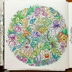 Lost Ocean Colored By Kim Bennett
