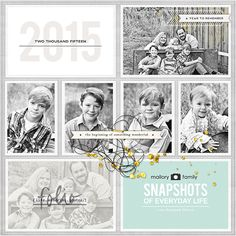 amymallory.com amy mallory creates project life pocket pages title page sahlin studio
