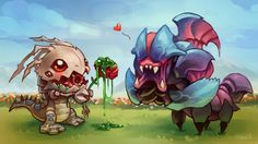 Kog'Maw and Rek'Sai • League Of Legends