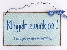 Türschild++Humor+von+Un-Art-Tick+auf+DaWanda.com