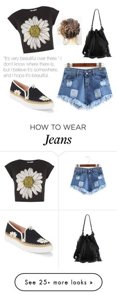"""~Ripped Shorts~"" by bubblegum59 on Polyvore featuring Kate Spade and Loeffler Randall"