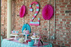 Lots of cute party ideas