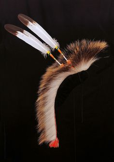 My Roach feather work by Ross Sletton and beaded roach spreader by Scott Sutton.