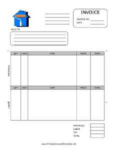 Job Invoice Forms Excel Employee Invoice Template  Invoice  Pinterest  Invoice Template  Citylink Late Toll Invoice Pdf with Invoice Clerk Duties Word Free Lawn Service Invoice Template At Certapro Painters Of Westchester And  South Connecticut We Have A Team Of Professional House Painters That  Delivers  Rental Receipt Word Word