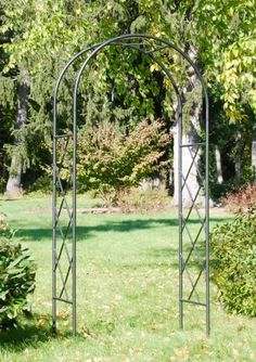 Achla Designs Square-On-Squares Arbor by Achla. $256.91. Check out our entire collection of Square-on Squares items. Makes a great frame for a garden bench. Easy slip-in components; no tools necessary. Ground stakes are included for easy installation. Graphite powder coated for maximum protection against weather. This sharp graphite arbor is featured as part of the square-on-squares collection. the square-on-squares collection is a simple and clean interpretatio...