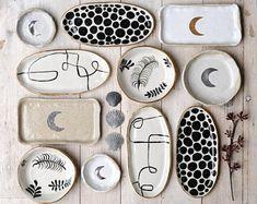 Handmade Ceramics by LiquoriceMoonStudios Diy Air Dry Clay, Diy Clay, Clay Crafts, Ceramic Clay, Ceramic Pottery, Pottery Art, Pottery Bowls, Pottery Painting, Ceramic Painting
