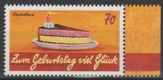 Bund 3233 - Grußmarken / Geburtstag