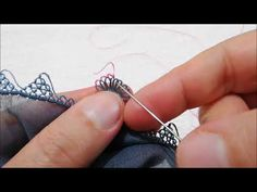 Crochet Lace Edging, Tatting, Make It Yourself, Youtube, Jewelry, Lace, Needlepoint, Knitting Needles, Tejidos