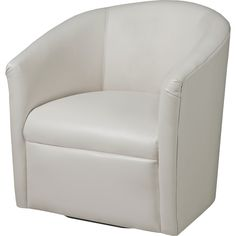 A835 Contemporary Barrel Swivel Chair By Natuzzi Editions