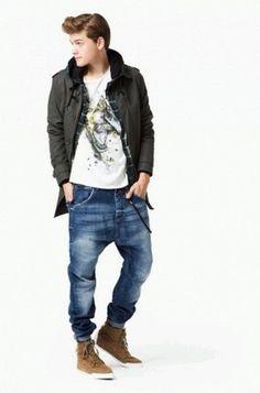 Zara Fashion Clothes For Men Mens Winter Fashion Trends, Mens Urban Fashion Trends, Latest Winter Fashion, Mens Fashion, Fashion Outfits, Fashion Clothes, Fashion Boots, Fashion 2014, Young Fashion